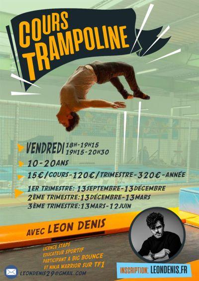 Cours de Trampoline - Breizh Jump Park