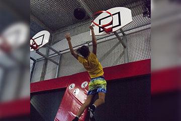 Dunk Zone Breizh Jump Park Quimper